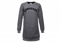 Платье женское Converse Long Sleeve Sweatshirt Dress