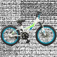 """Подростковый велосипед TechTeam Calibri 20""""х11"""" белый, скидка"""