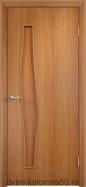 Распродажа. Дверь ламинированная С-10 (г) миланский орех.