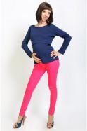Джинсы-леггинсы розовые для беременных, скидка