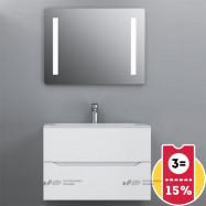 Мебель для ванной AM.PM Tender 80 подвесная, белый глянец