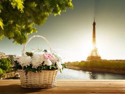 """Фотообои """"Рассвет в Париже"""" 5540 руб вместо 9230 руб."""