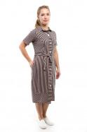 Платье-рубашка Пк-321 Капучино, акция