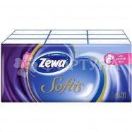 Платки носовые Zewa 9 шт Softis Soft. Экономия: 25%