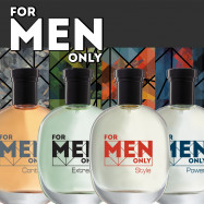 For Men Only - коллекция ароматов со скидкой 20%!
