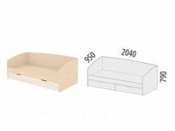 Кровать Соната, скидка 50% онлайн