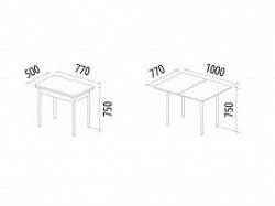 Обеденный стол Орфей 8 Венге, -15% онлайн