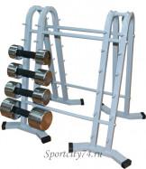 Стойка под гантели для фитнеса на 12 пар, распродажа