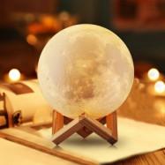 Лампа-ночник UNID Луна большая 15 см с пультом и сенсорным управлением