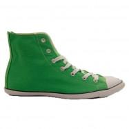 Кеды Converse Slim Hi green, скидка 80%