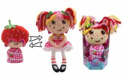Кукла плюш Девчушка-вывернушка 2в1, скидка!
