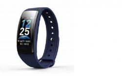 Фитнес браслет Smart Bracelet QS-90 Plus (синий)