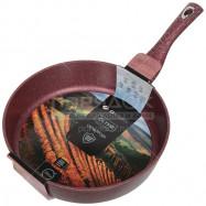 Сковорода с мраморным покрытием Daniks Мрамор Олимп