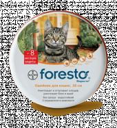 -10% на Форесто ошейник от блох и клещей для кошек 38 см
