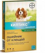 -10% на Килтикс ошейник от блох и клещей для мелких собак 38 см