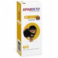 -11% на Бравекто таблетки от блох и клещей для собак 2-4,5 кг 1 таб.