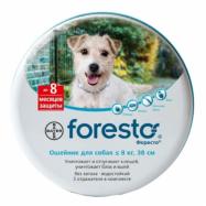-10% на Форесто ошейник от блох и клещей для собак меньше 8 кг 38 см