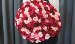 Кенийская роза. Букет из 101 розы недорого