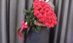 Букет из 51 розовой розы 4.590 ₽ вместо 5.100 ₽