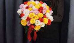 51 роза микс 4.150 ₽ вместо 4.590 ₽