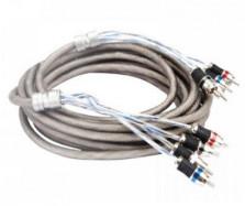 -17% на Межблочный кабель KICX RCA-04 PRO (4.9m)