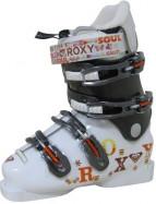 Ботинки горнолыжные ROXY Swell (white/brown), скидка!