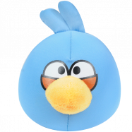 Подушка-антистресс Angry Birds (синяя) со скидкой