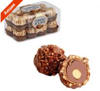 Акция. Конфеты FERRERO «Rocher», шоколадные, 200 г
