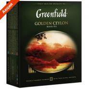 Чай GREENFIELD 100 пакетиков за 247,02 руб.