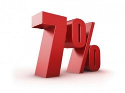 При покупке товаров на сумму свыше 25000р - скидка 7%