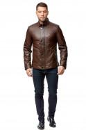 Скидка 55% на Куртку кожа 2809, коричневый