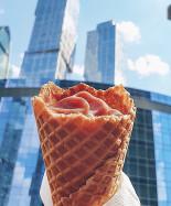 """Домашнее мороженое в """"Волконском""""."""
