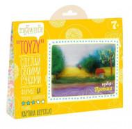 Распродажа! Картина шерстью Toyzy Прованс TZ-P019