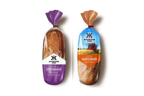 Хлеб вышел в новой упаковке.