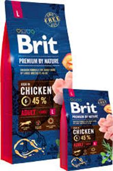 Скидка на Brit Premium для собак в фасовке 15 кг