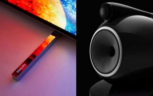 «SOUND BY BOWERS AND WILKINS» ДЛЯ OLED ТЕЛЕВИЗОРОВ PHILIPS.