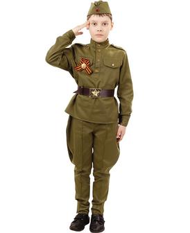 Спецпредложение. Карнавальный костюм Солдат за 2040 руб