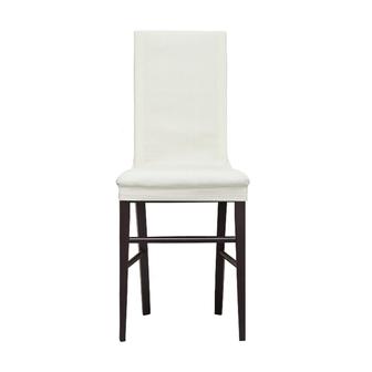 Скидка 50% на Чехол на стул со спинкой 40 см (2 штуки) Рустика Белый