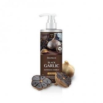 Распродажа. Интесивный шампунь на основе черного чеснока Deoprose Shampoo Black Garlic Intensive Energy 1000 мл