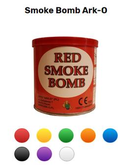 Smoke Bomb Ark-О, цветной дым со скидкой
