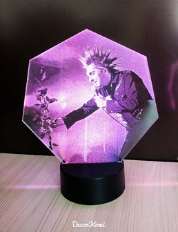 """Скидка 15%. 3D LED Светильник """"Лампа-голограмма"""" с индивидуальным изображением"""