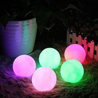 Плавающие светильники шары RGB LED - скидки 20%