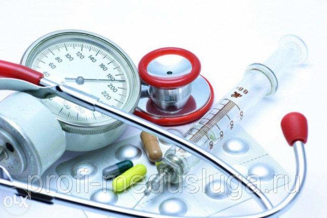 Подкожная инъекция (услуги медсестры)