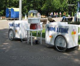 Тележка с мороженым на праздник
