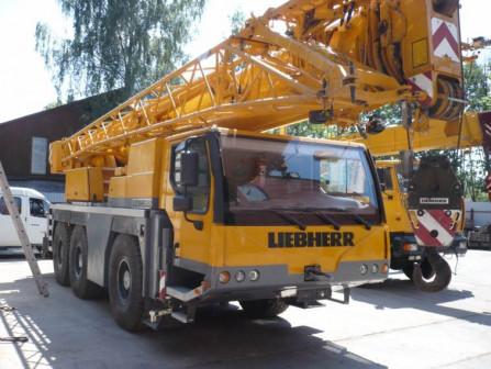 Аренда крана 45 тонн LIEBHERR