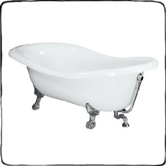 Установка чугунных ванн