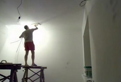 Финишная шпаклевка (потолки)