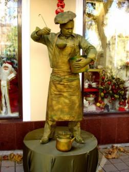 Живые статуи скульптуры