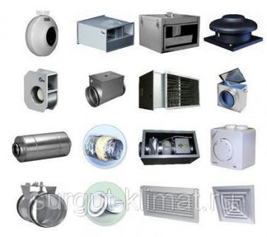 Продажа и поставка вентиляционного оборудования