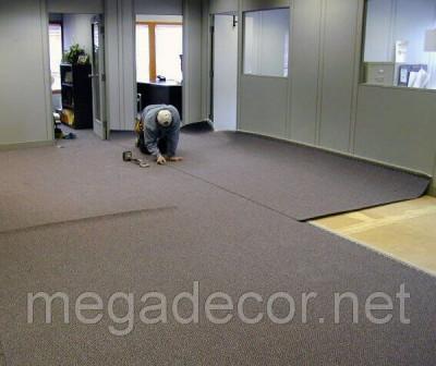 Укладкамонтаж ковролина ковровой плитки